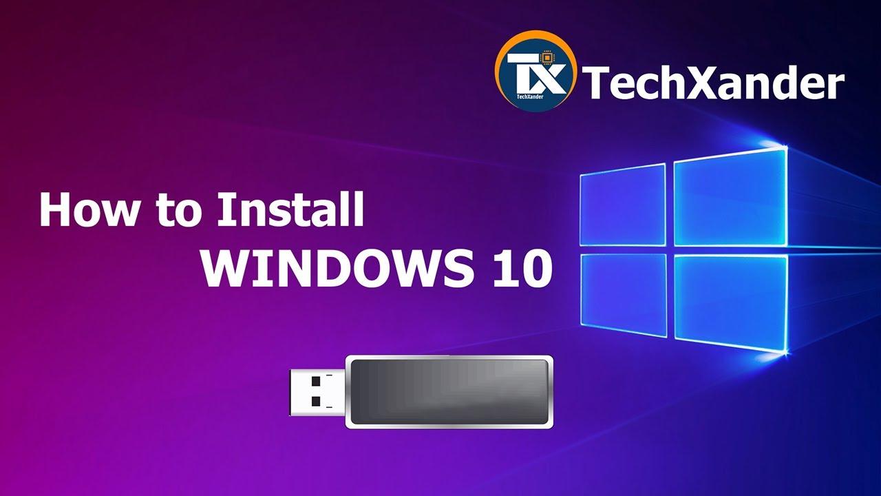 windows 10 pro download usb