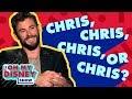 Chris Hemsworth Takes the Oh My Disney Chris Quiz | Oh My Disney Show