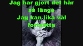 Gubben I Lådan Med Text (Lyrics on the screen)