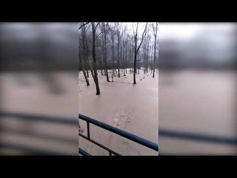 Fuertes lluvias en Cantabria provocan inundaciones