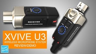 XVIVE U3 Wireless Microphone Review/Demo
