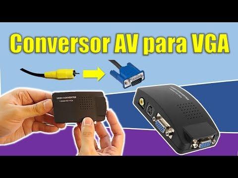 conversor-de-vídeo-av-para-vga---teste-do-knup-kp-3462