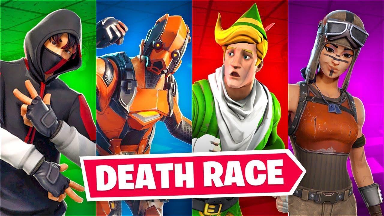 Lachlan gegen Muselk und seine Freunde in Fortnite Deathrun! + video