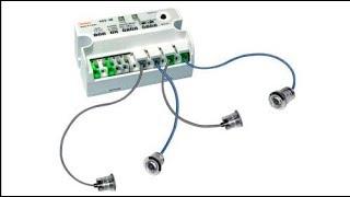 ADS-SE Оптический барьер безопасности, 0-10 м, 1 луч, контроллер и пара фотодатчиков