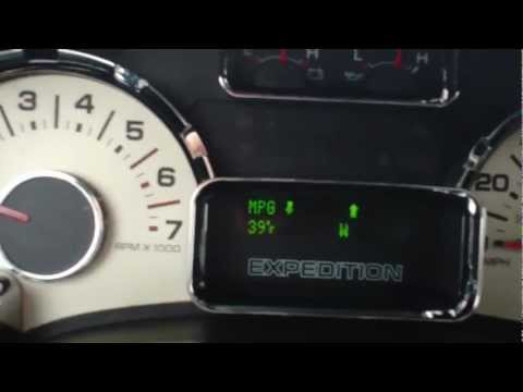 HOW TO RESET THE COMPASS ON A FORD EXPEDITION