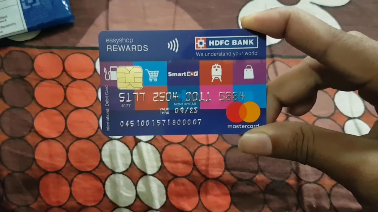 HDFC Bank Card Reload Application