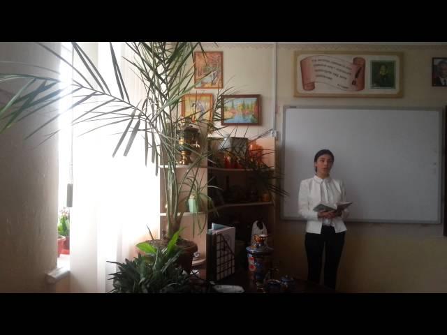 Изображение предпросмотра прочтения – ЗульфиеАблякимова читает произведение «Одиночество» И.А.Бунина