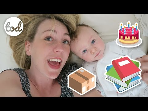 BIRTHDAYS, BOXES & BOOKS // The Oxleys Daily