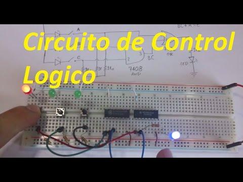 Montaje del circuito de control de alarma contra incendios