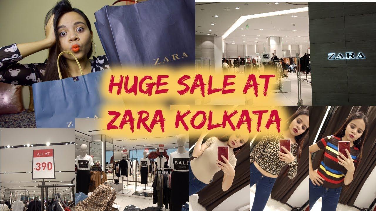 88213a59 HUGE SALE AT ZARA KOLKATA| STORE TOUR + HAUL| SRISHTI MAJUMDER - YouTube