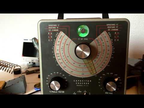Heathkit Repair IT-11 Capacitor Checker Overhaul