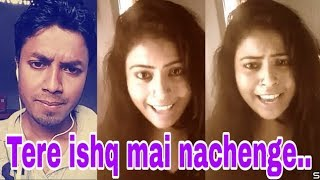 Tere ishq mein nachenge. Smule cover. My cover 183.