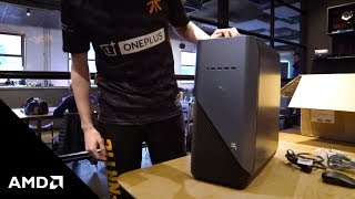 Fnatic Rainbow Six Siege's RizRaz Unboxes the Dell Inspiron 5676