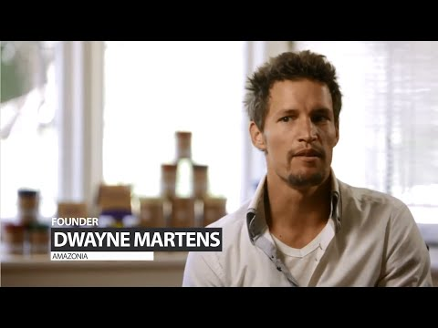 Entrepreneurial Success for Superfood Startup Dwayne Martens Founder of Amazonia