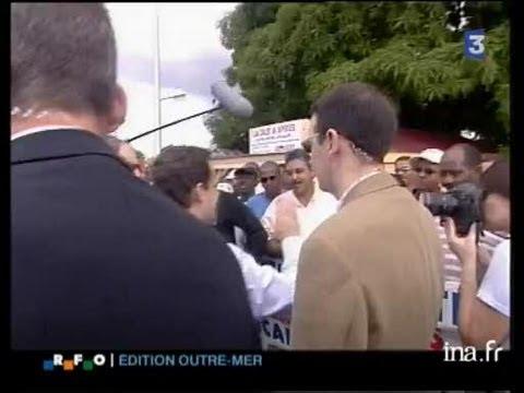 Nicolas Sarkozy en Guadeloupe