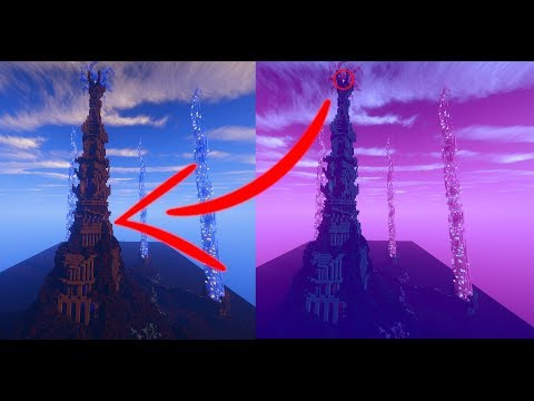 HUGE EPIC Mystical Tower Timelapse with World Download