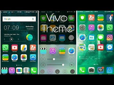iOS iPhone 6 Theme for all VIVO Phones