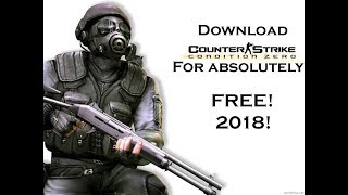 Download Counter Strike Condition Zero for Free! ||2018||