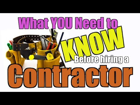 Before Hiring a Contractor Tips & Tricks - Chakits Krulsawat