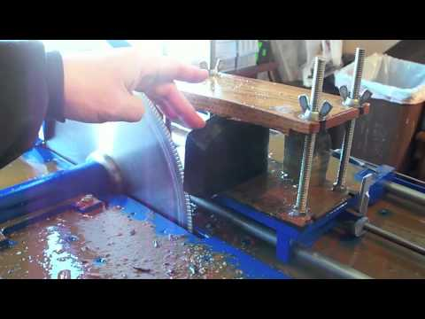Lapidary George Tutorial on Stone Cutting - 1