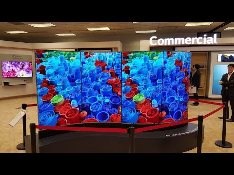 Best of LG Display - Flexible, Transparent and 8K Displays at CES 2016