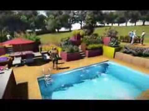 Am nagement d 39 un jardin et construction d 39 une piscine for Construction piscine desjoyaux youtube