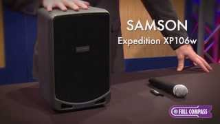 Samson Expedition XP106W Rechargeable Portable PA Overview | Full Compass