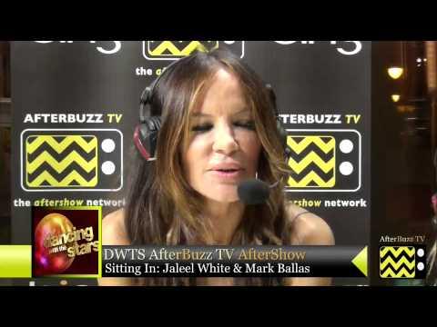 Jaleel White, Mark Ballas, Katherine Jenkins, Maria Menounos, and Derek Hough @ DWTS | AfterBuzz TV