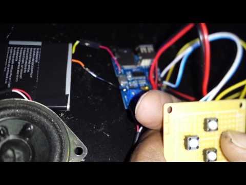 HiLetgo TF Mp3 Decoder w/mod amp