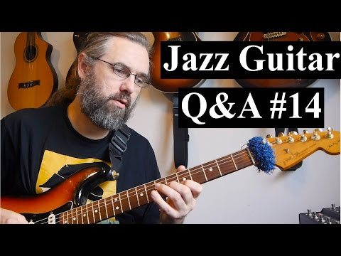 Jazz Guitar Q&A #14 - Artifical Harmonics, Solid Body guitar, Overdrive Pedals, Standard intros
