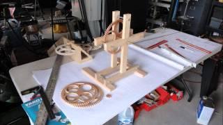 Wooden Gear Clock Part1