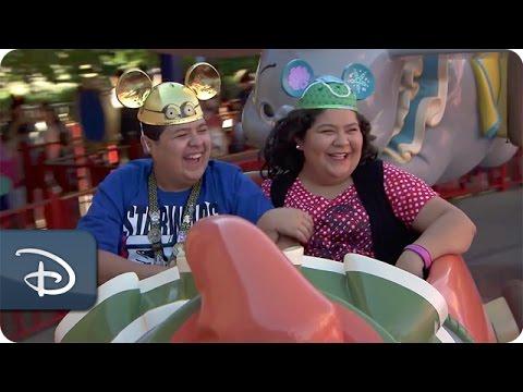 Raini & Rico Rodriguez Visit Walt Disney World Resort