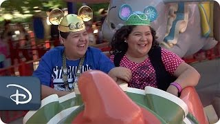 Raini & Rico Rodriguez Visit Walt Disney World Resort