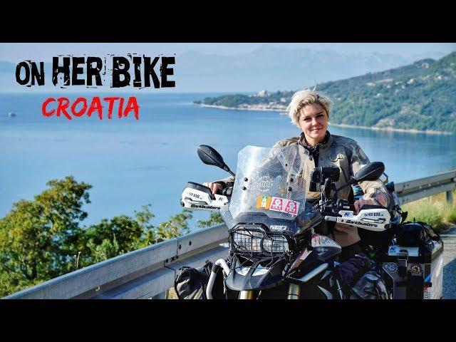 Croatia. On Her Bike Around the World. Episode 29