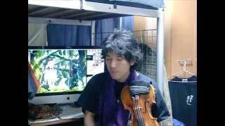 もののけ姫(Princess MONONOKE)-アシタカせっ記-Guitar&violin