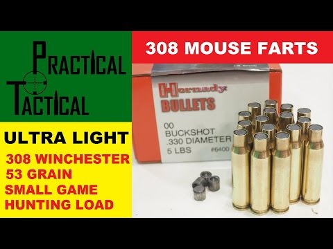 308 Winchester Ultra Light 53 Grain Small Game Hunting Load