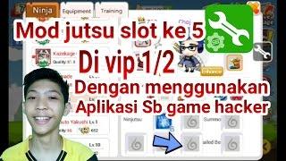 NINJA HEROES INDONESIA -Mod Slot Jutsu Ke 5 Vip1/2
