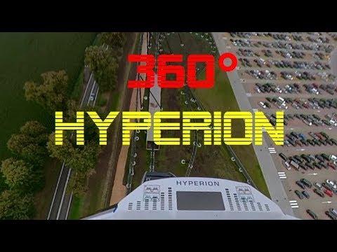 [ 360° EXTREME ] Mega Coaster HYPERION EnergyLandia