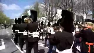 Оркестр играет марш из игры Red alert