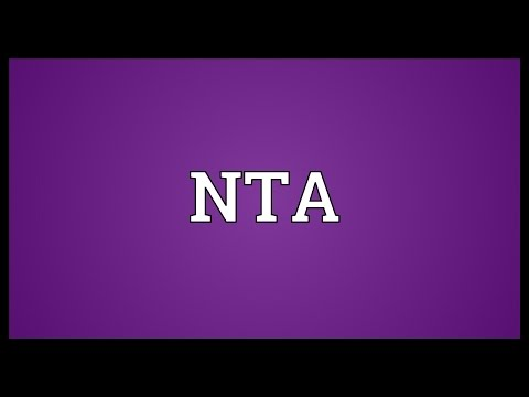 NTA Meaning