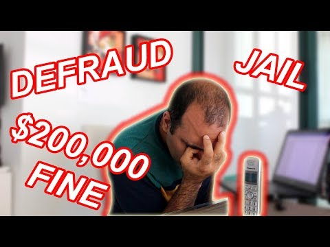 Almost Went to Jail for Defrauding Revenue Agency (Scammer Call!)