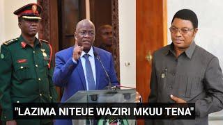 Gafla Rais Magufuli abadilika,athibitisha kumteua Waziri Mkuu mwingine!.