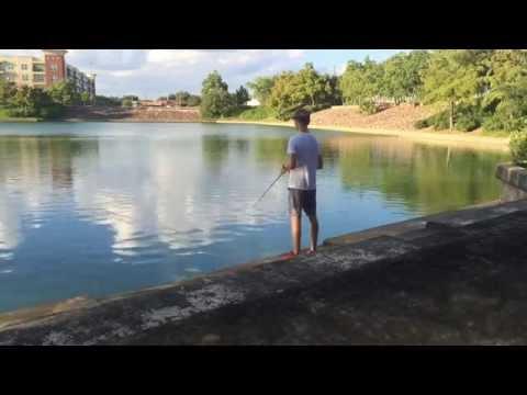 """Reliant Pond"" (Houston Fishing)"