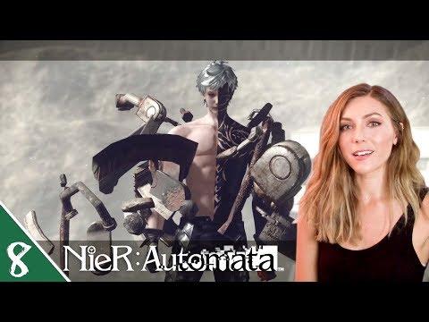 Ending A   NieR Automata Pt. 8   Marz Plays