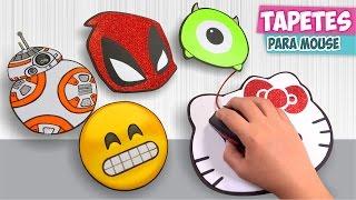 TAPETES PARA MOUSE personalizados (Mousepad) ★Así o más fácil★ DIY