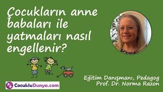 Çocukların anne babaları ile yatmaları nasıl engellenir? #çocukuykusu
