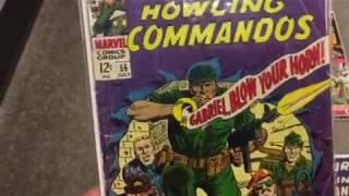 Classic Comic Books: Doc Savage, John Carter and Sgt. Fury
