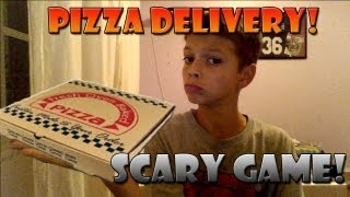 Pizza Delivery! SCARY GAME