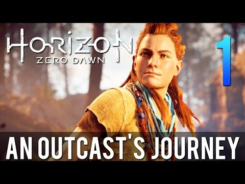 [1] An Outcast's Journey (Let's Play Horizon Zero Dawn PS4 Pro w/ GaLm)
