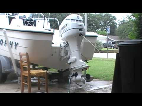 2003 115hp evinrude fuel injection outboard motor